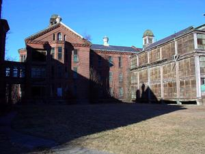 Taunton State Hospital grounds use