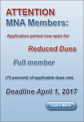 Reduced Dues 2017
