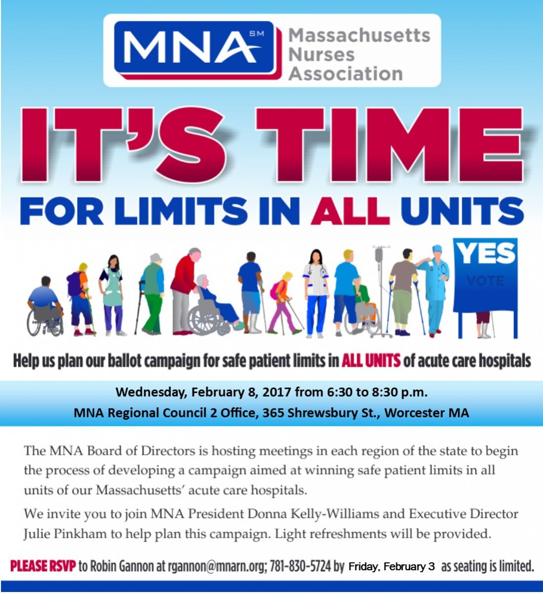 Regional Meeting on Ballot Campaign for Safe Patient Limits