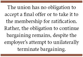 advantages of collective bargaining for employers
