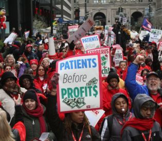 BIG APPLE PROTEST: Nurses from Bay...