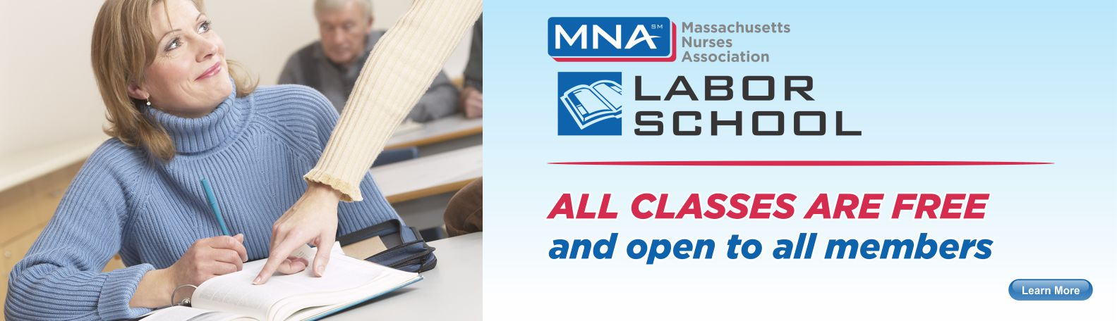 MNA Labor School Classes Free to MNA Members