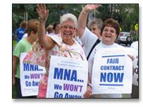 Bargaining Unit Listings - Massachusetts Nurses Association